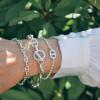 bracelet mailles marines et fermoir toggle
