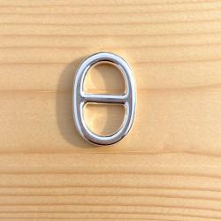 BRELOQUE MAILLE MARINE (T4) 30 x 20 mm
