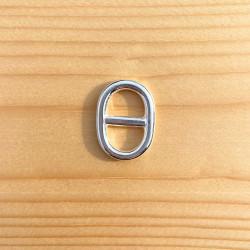 BRELOQUE MAILLE MARINE (T3) 23 x 17 mm