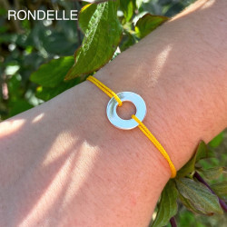 Bracelet cordon fin