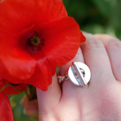 Bague Poppies